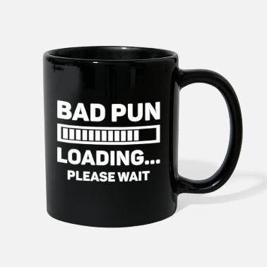Pun Bad Pun Loading - Full Color Mug