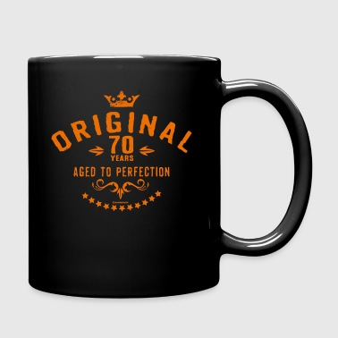 Original 70 years aged to perfection - RAHMENLOS birthday gift - Full Color Mug