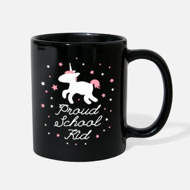School Starter Proud School Kid Unicorn - Full Color Mug