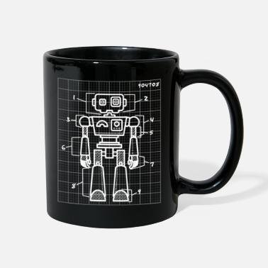 Robot Robot Developer - Full Color Mug