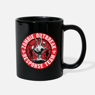 Adulting Zombie Outbreak - Full Color Mug