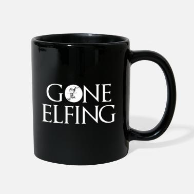 Elf Gone Elfing Elf Christmas - Full Color Mug