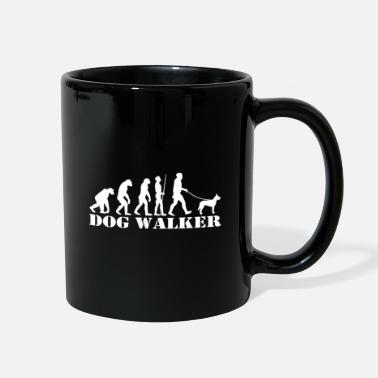 Pup Hollandse Herder Evolution Gift for Dog Walker - Full Color Mug