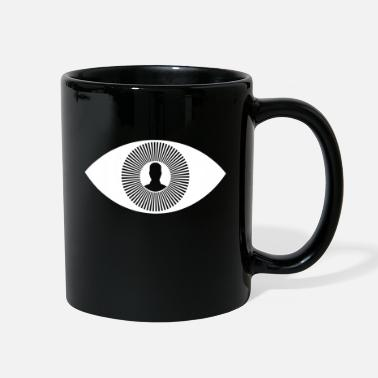 Eye Monitoring illuminati eye monitoring - Full Color Mug
