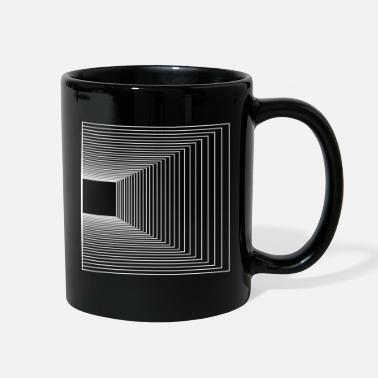 Flecked Geometric Graphic art t-shirt for men - Full Color Mug