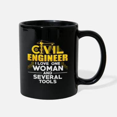 Civil Engineering Civil Engineer Funny Engineering - Full Color Mug