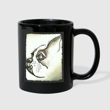 dog profile - Full Color Mug