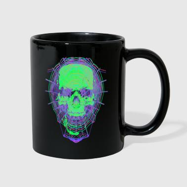 Webbed Skull - Full Color Mug