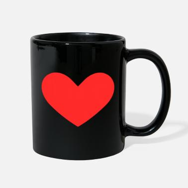 Red Heart Red heart - Full Color Mug