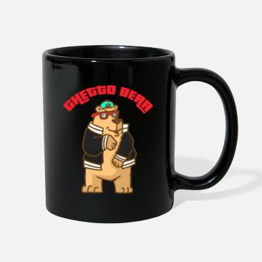 Ghetto Bear Gift Pole Brown Panda North Funny Cool - Full Color Mug