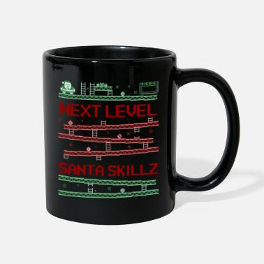 Next Level Santa Skills | Ugly Gamer Sweater - Full Color Mug
