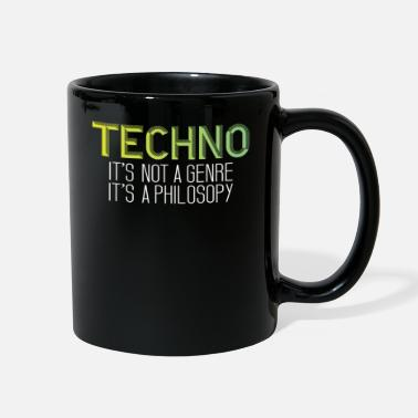 Philosophy Techno is a philosophy - Full Color Mug
