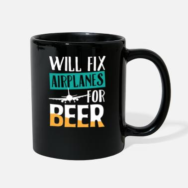 Inspector Airplane Reason To Fix Alcohol Funny Gift - Full Color Mug