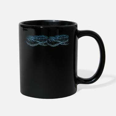 Waves Waves Ocean - Full Color Mug