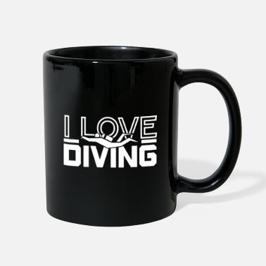 H2o Diving gift idea Diving dive - Full Color Mug