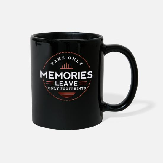 Wanderlust Mugs & Drinkware - keep memories - Full Color Mug black