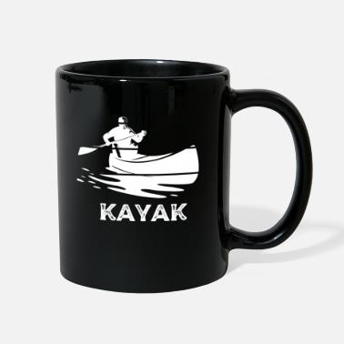 Kayak Whitewater adventure by kayak - Full Color Mug
