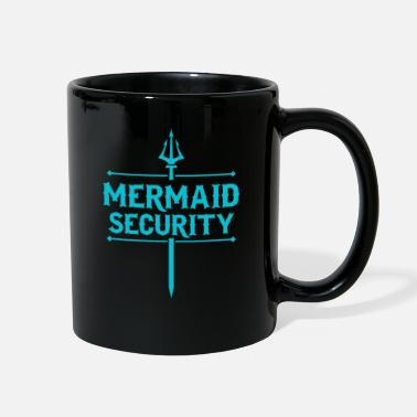 Security Service mermaid security service security gift - Full Color Mug