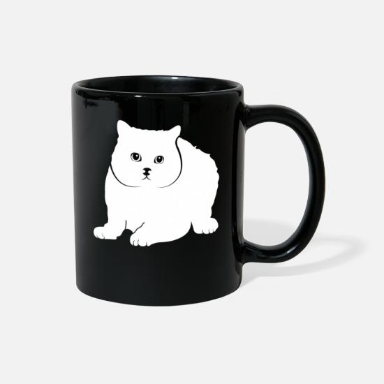 Queen Mugs & Drinkware - British Shorthair - Full Color Mug black