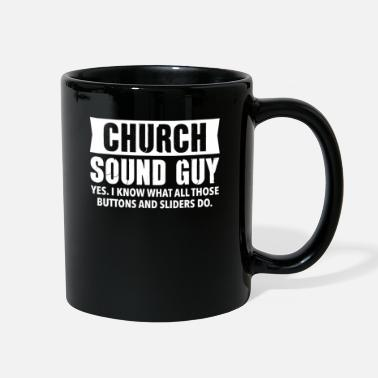 Sound CHURCH SOUND GUY - Christian Audio Engineer Gifts - Full Color Mug