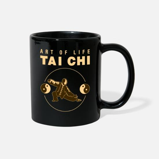 China Mugs & Drinkware - Tai Chi - Full Color Mug black