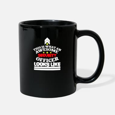 Security Service Security Service Bodyguard Secure Guardian Soldier - Full Color Mug