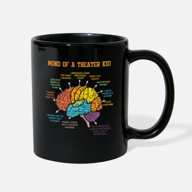 Stage Actor Brain Theatre Thater Acting Actress Gift - Full Color Mug