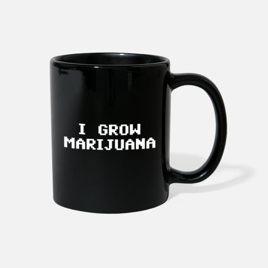 Weed Mugs & Drinkware - 4:20 4/20 420 April Funny Weed Ganja i Grow Jane - Full Color Mug black