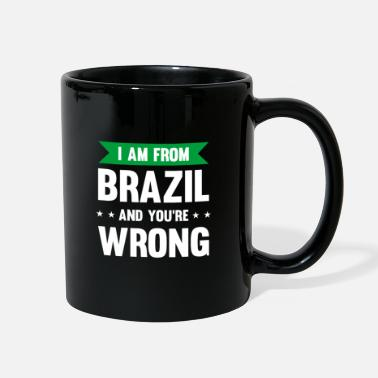 Portuguese Funny Brazil Saying gift idea for Brazilians - Full Color Mug