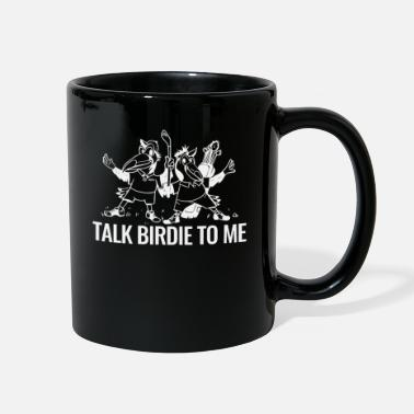 Us Talk Birdie To Me Golf Funny Golf Gift - Full Color Mug