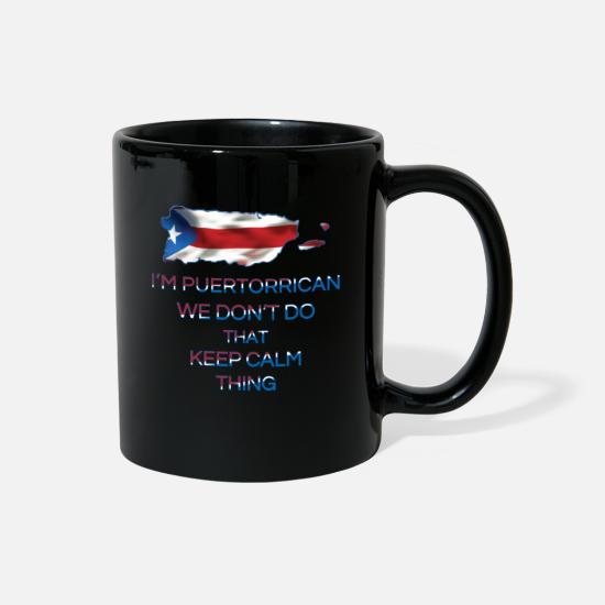 Puerto Rico Mugs & Drinkware - I'm Puertorrican - Full Color Mug black