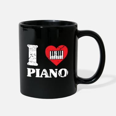 Hobby Piano Concert Nobly virtuoso musician - Full Color Mug
