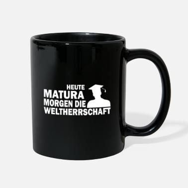 High School Graduate Matura fun saying school gift - Full Color Mug