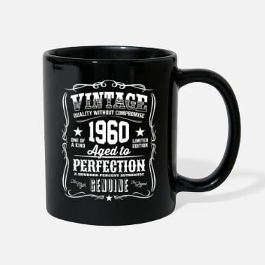Vintage Vintage 1960 Aged to Perfection White Print - Full Color Mug