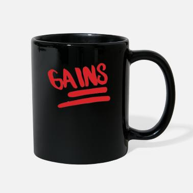 Gains Gains - Full Color Mug