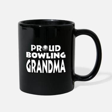 Bowling Design Bowling Shirt Grandma Women - Full Color Mug