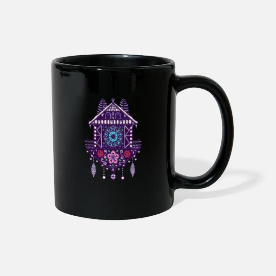 Gift Idea Mugs & Drinkware - Cuckoo Clock 6c - Full Color Mug black