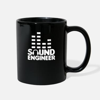 Sound Sound Engineer Headphone Equalizer Gift - Full Color Mug