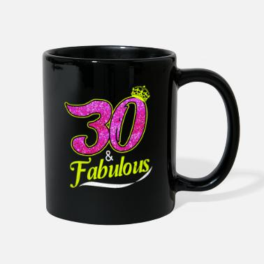 Aged To Perfection 30th Birthday - Full Color Mug