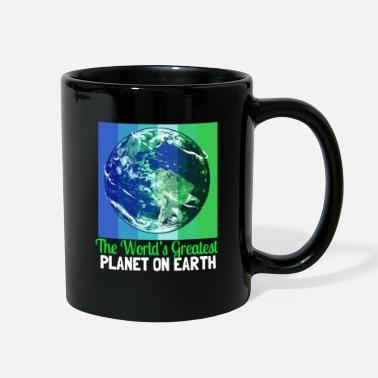 Flora Earth Day Climate Change Recycling Ecology Planet - Full Color Mug