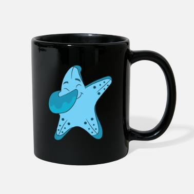 Kraken Starfish Tee Dabbing Dab Gift - Full Color Mug