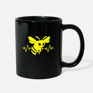 Honey Bee Queen Bumblebee Beekeeper Petals Nectar - Full Color Mug