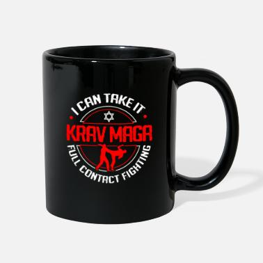 Take Krav Maga MMA Defense Fight Martial Art Israel - Full Color Mug