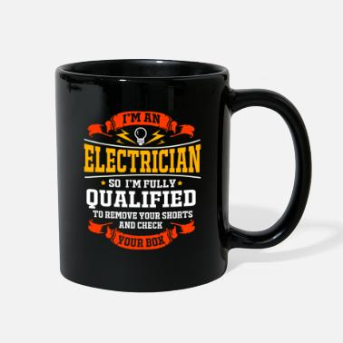Lightning Electrician Electrical Engineer Electricity Volt - Full Color Mug