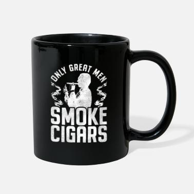 Dominican Republic Great Men Smoke Cigars - Cigar Smoker Tobacco - Full Color Mug