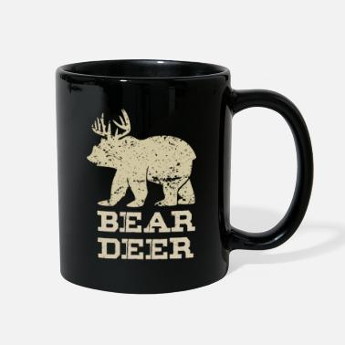 Raider Bear Deer Funny Beer Retro Vintage - Full Color Mug