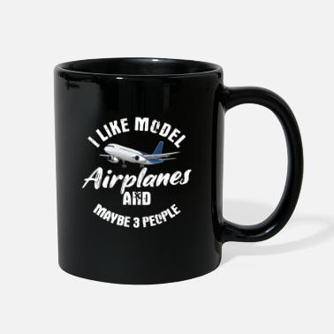 Model Airplane Model Airplane - Full Color Mug