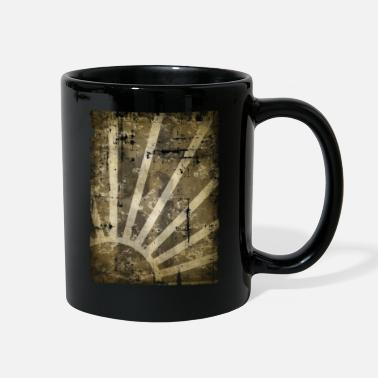 Grungy grungy sun - Full Color Mug