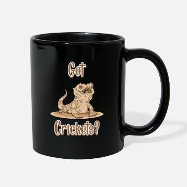 Bearded Got Crickets Shirt I Lizard Reptile Gecko Gift - Full Color Mug