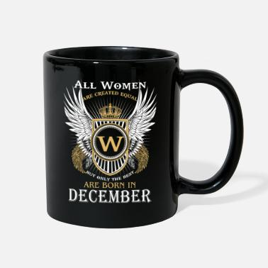 Running only the best are born in December - Full Color Mug